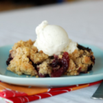 Apple, Pear and Berry Crisp