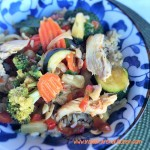 Asian Chicken Vegetable Stir-Fry