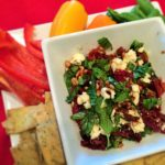 Sundried Tomatoes, Basil and Feta Dip
