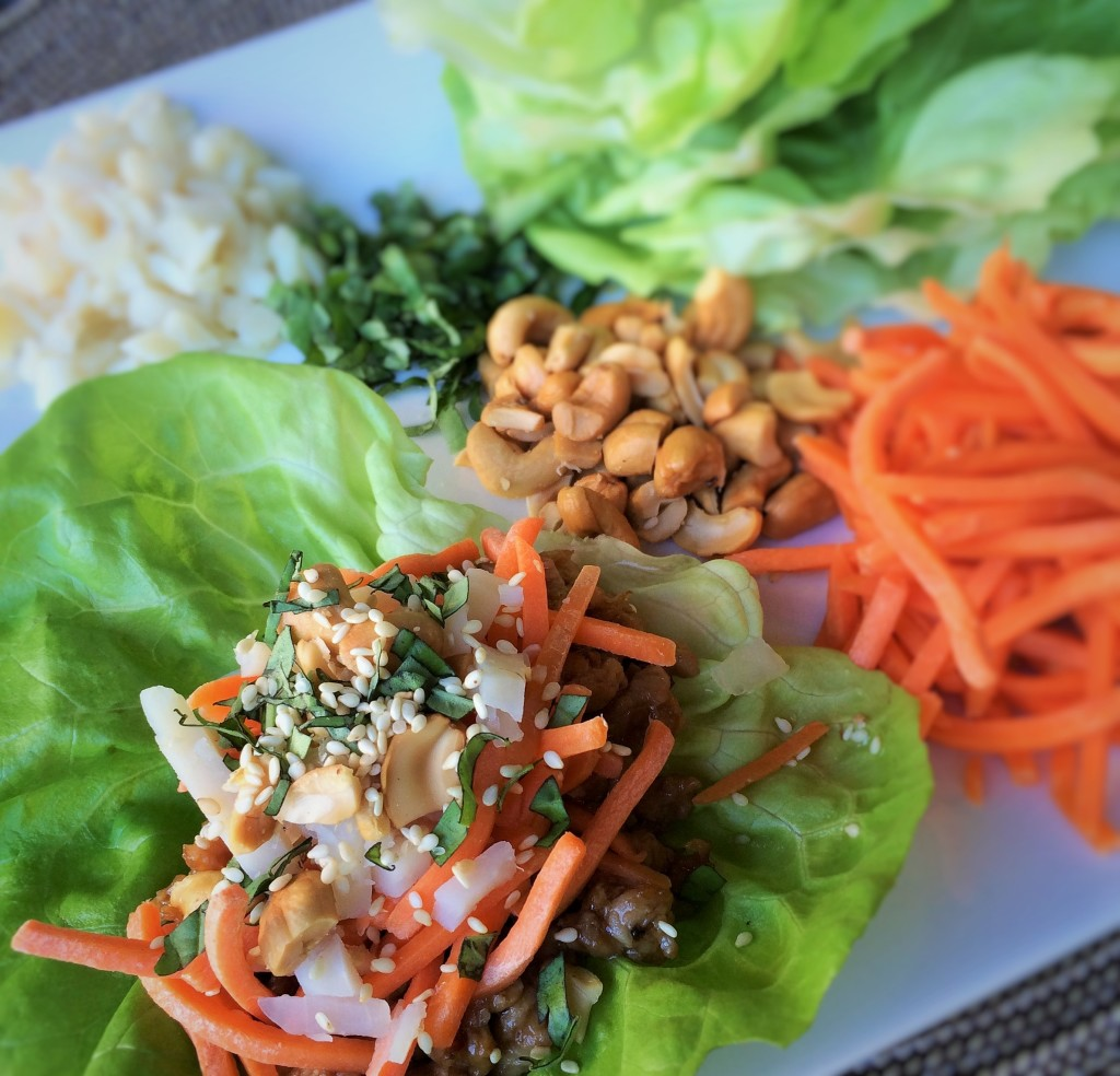 Asian Chicken Lettuce Wraps | Inside Karen's Kitchen