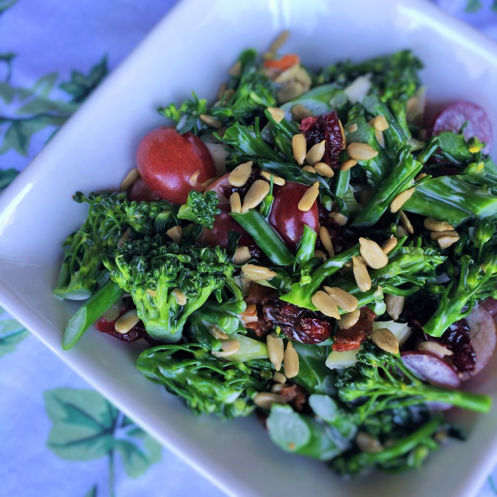Broccolini Summer Salad