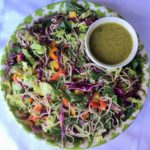 Asian Soba Noodle Salad with Ginger Dressing