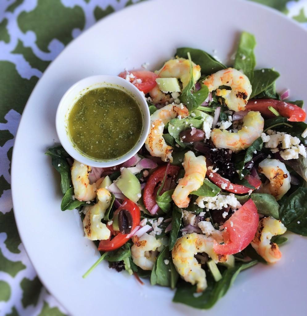 Grilled Shrmp Greek Salad