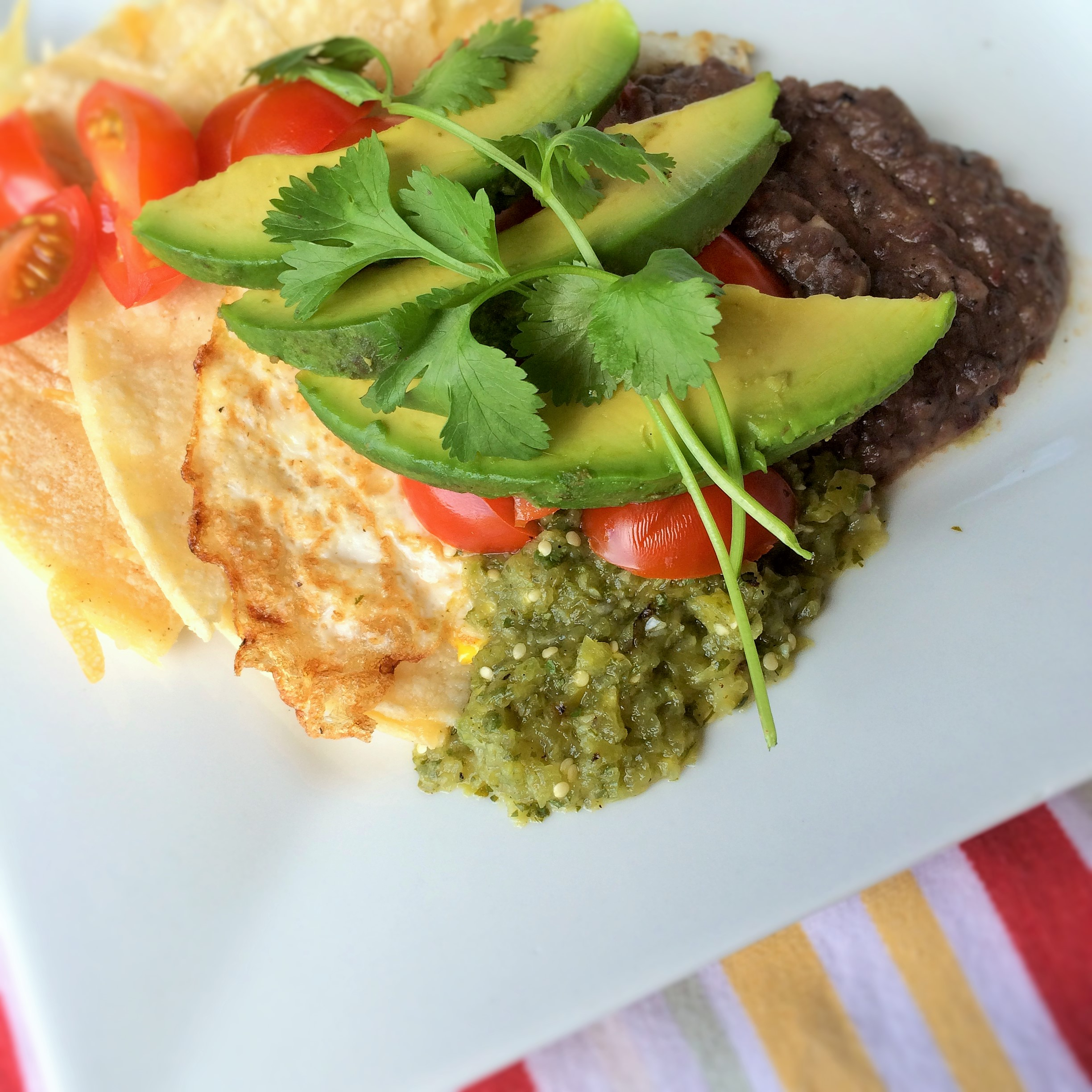 Salsa Verde Huevos Rancheros Recipes — Dishmaps
