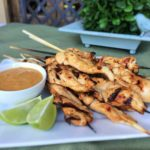 Thai Chicken Satay with Spicy Peanut Sauce