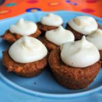 Carrot Cake Bites with Cream Cheese Frosting