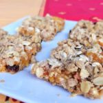 Apricot Raisin Bars