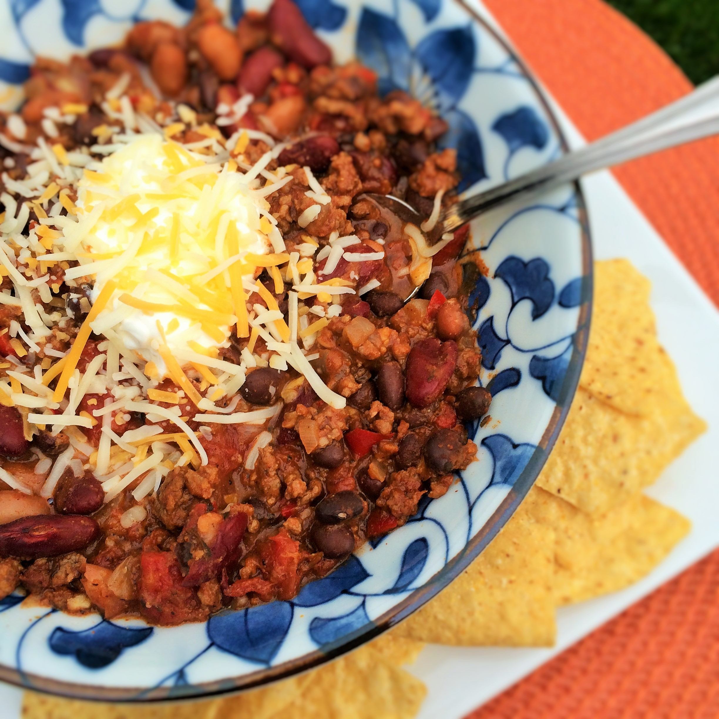 Chunky Beef and Bean Chili