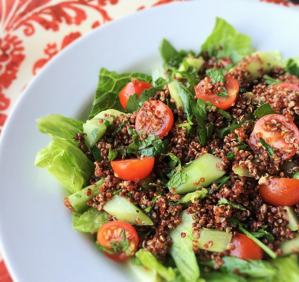 Quinoa Tabbouleh Salad | Inside Karen's Kitchen