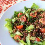 Mediterranean Quinoa Tabbouleh Salad