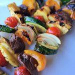 Steak and Vegetable Kabobs