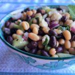 Black and White Bean Greek Salad