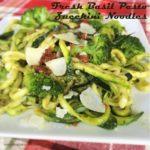 Fresh Basil Pesto Zucchini Noodles2