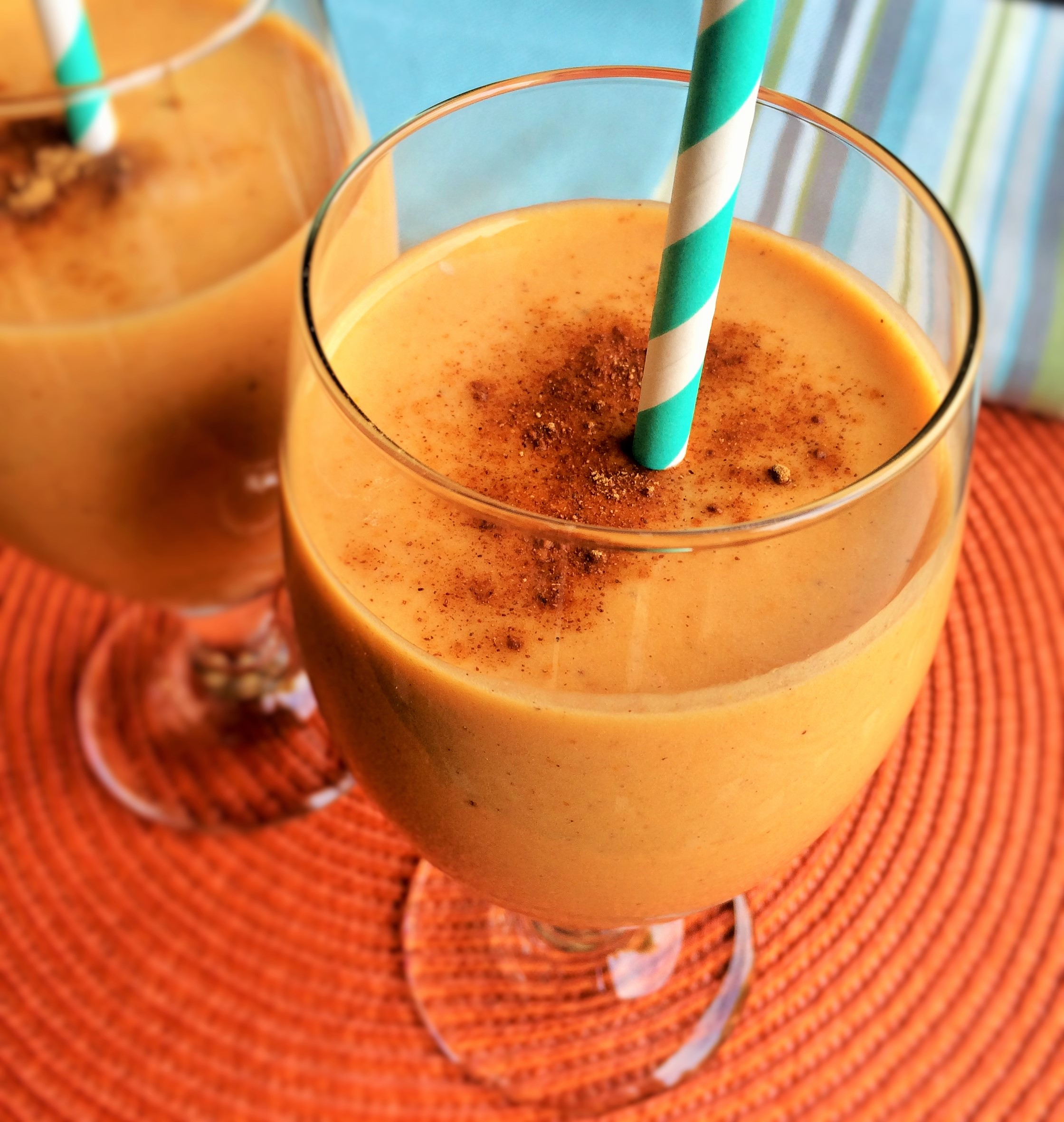Pumpkin Protein Smoothie | Inside Karen's Kitchen
