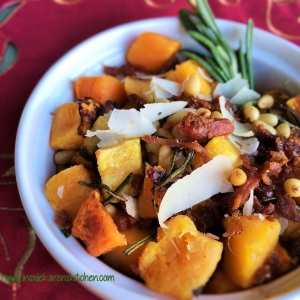 Rosemary Roasted Butternut Squash