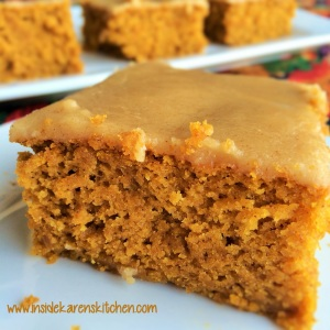 Spiced Pumpkin Cake with Maple Brown Butter Glaze