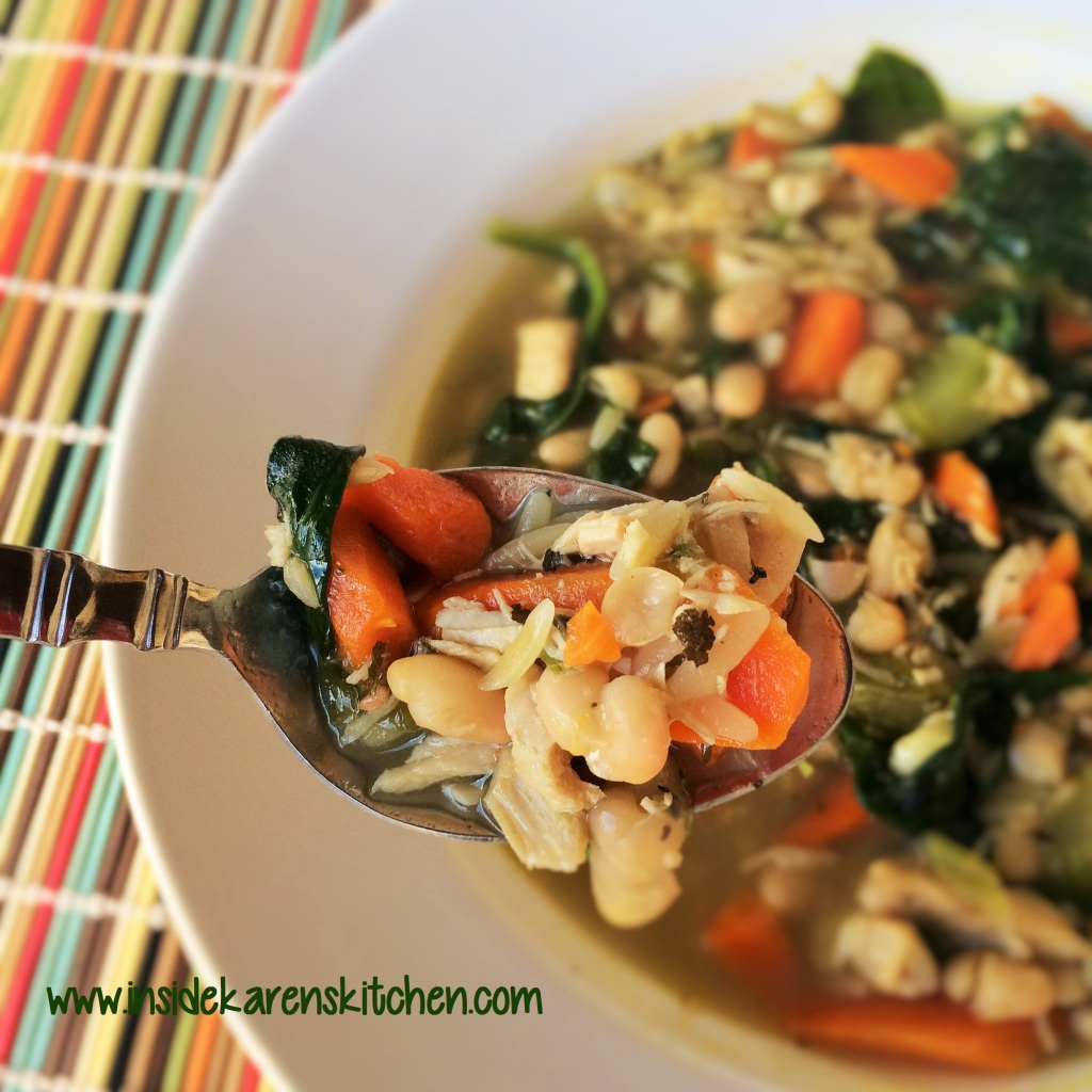 chicken soup with sage yucatan style chicken lime and orzo soup turkey ...