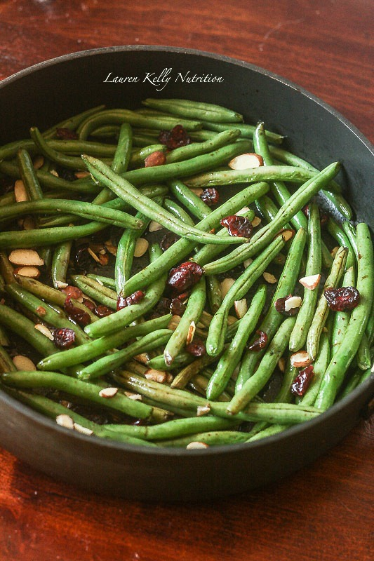 Balsamic Glazed Green Beans