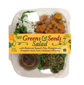Greens and Seeds Salad