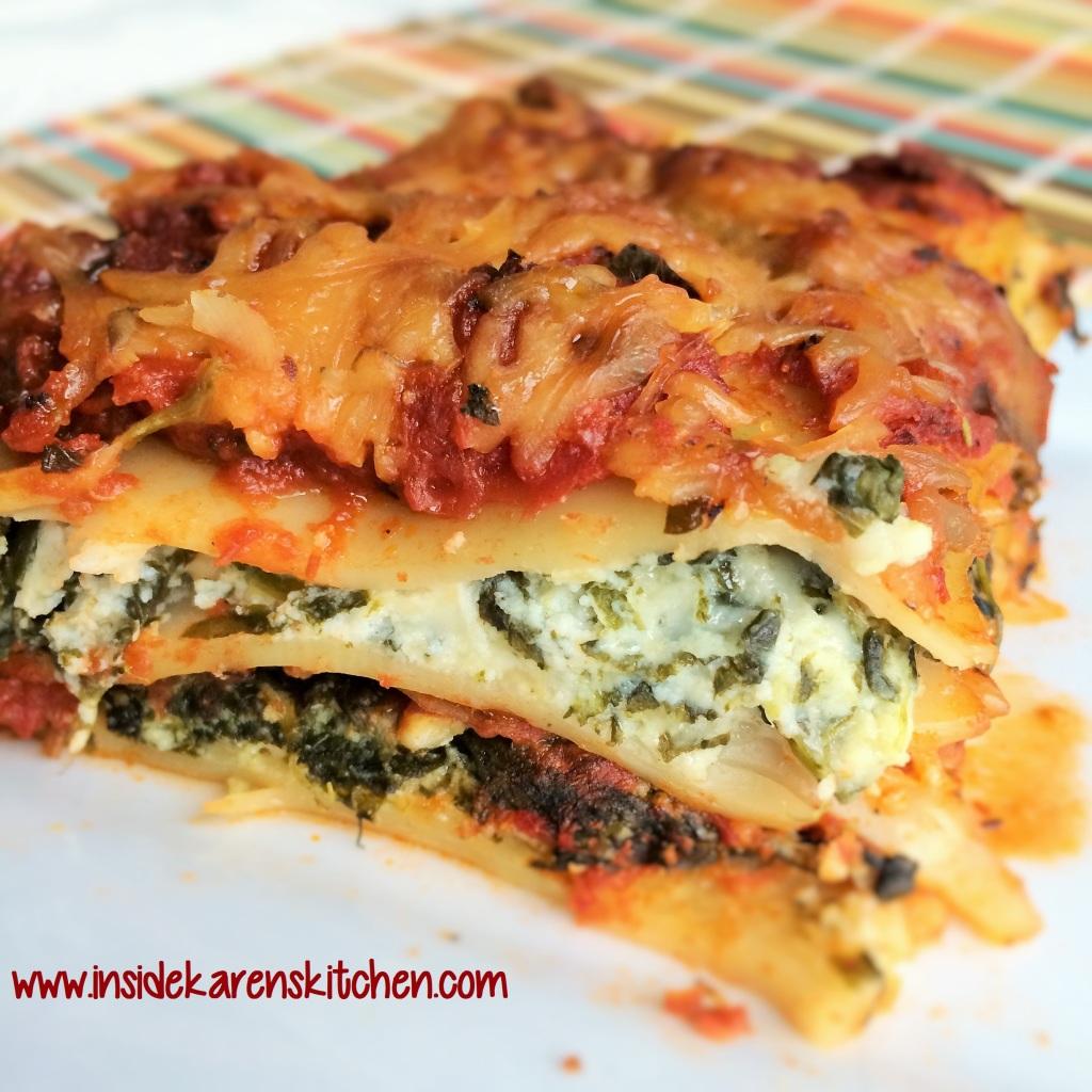 Spinach Lasagna 2