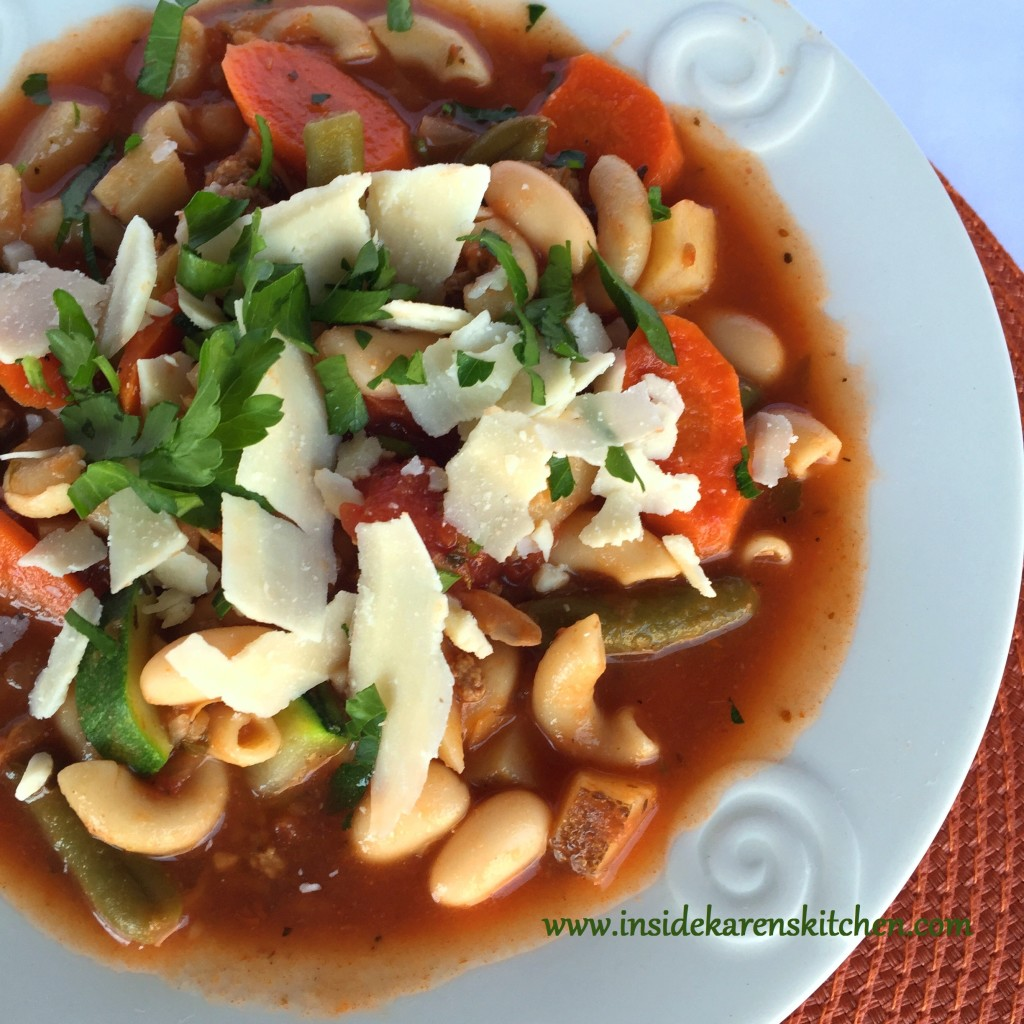 Minestrone Soup 2