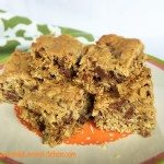 Oatmeal Chocolate Chip Cookie Bar