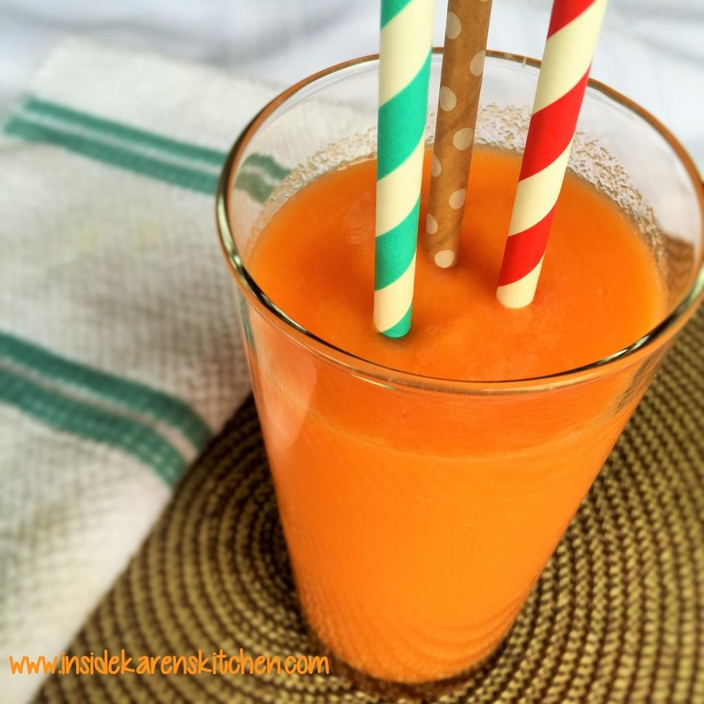 Simple Orange Smoothie