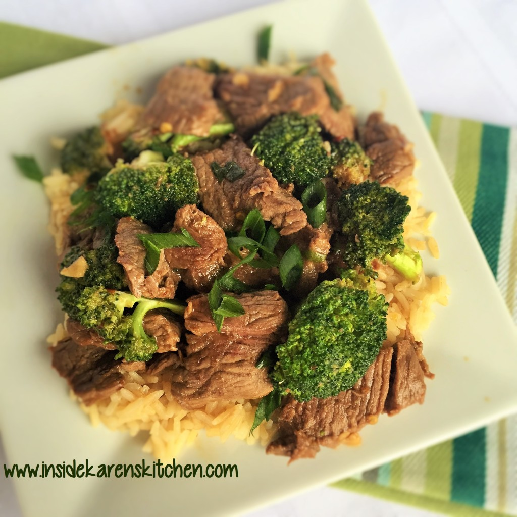 30-Minute Mongolian Beef and Broccoli