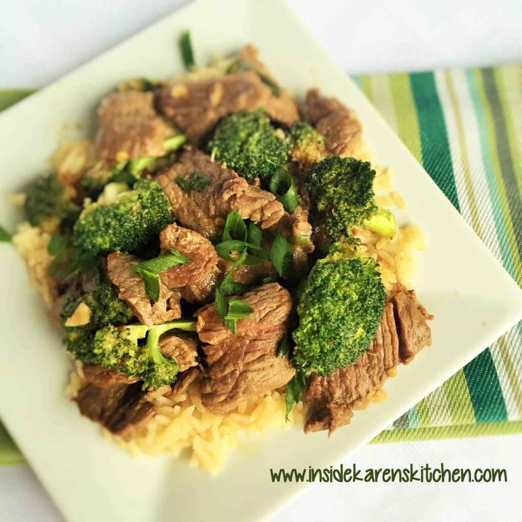 30-Minute Mongolian Beef and Broccoli 2