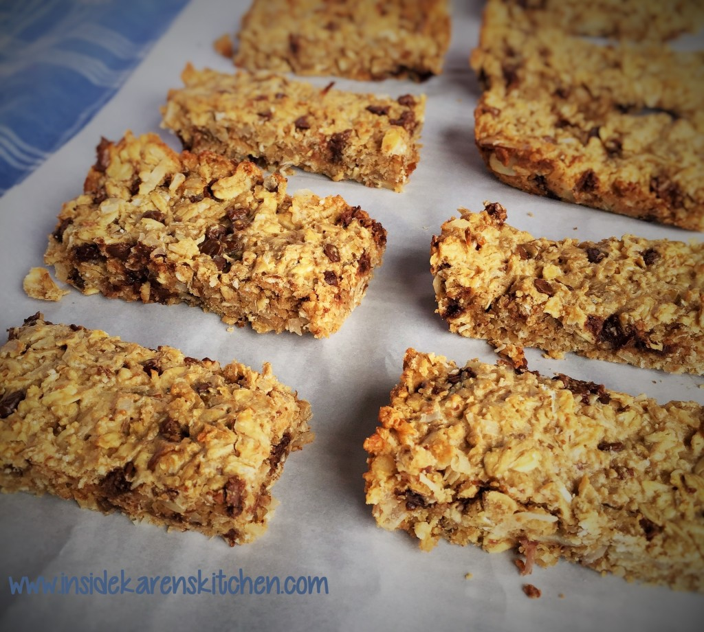 High Protein Chewy Granola Bars 1