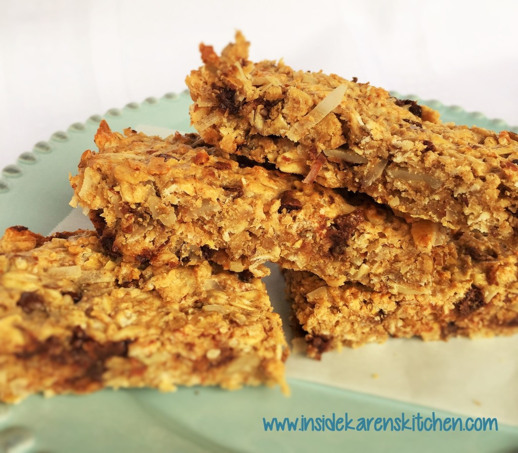 High Protein Chewy Granola Bars 2