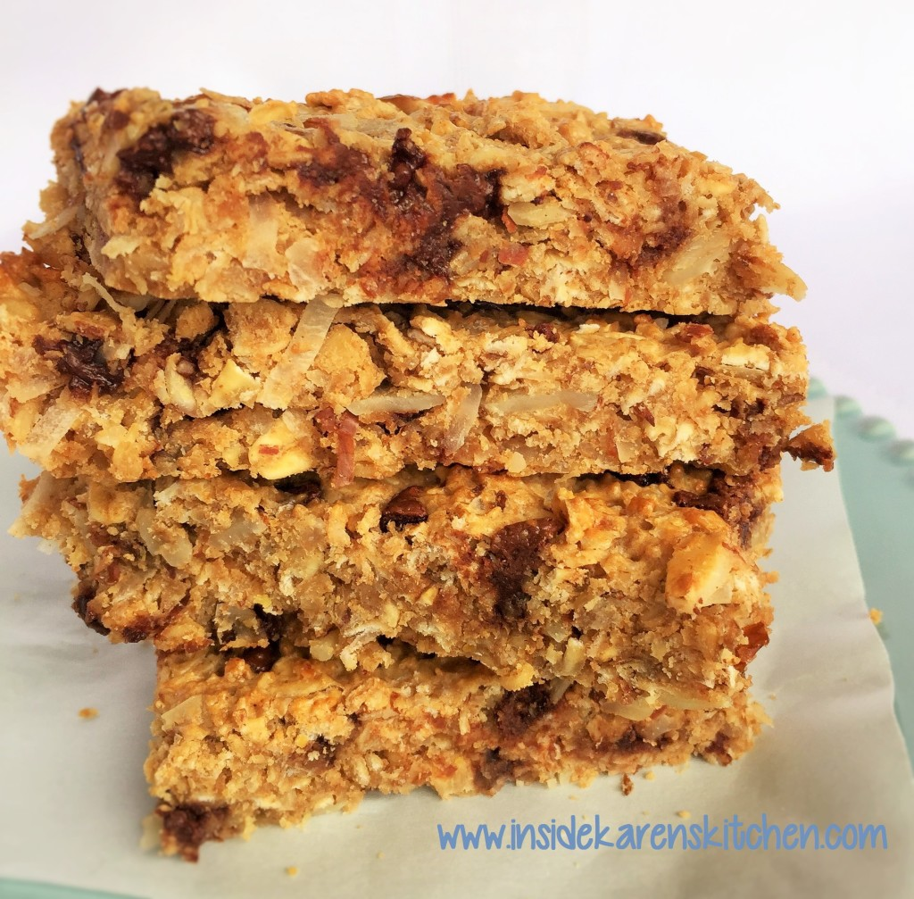 High Protein Chewy Granola Bars 3