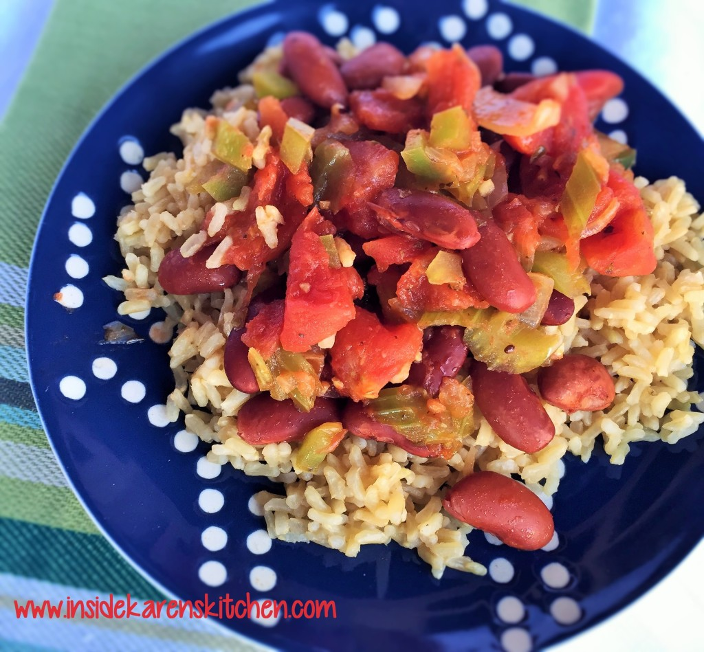 Simple Red Beans and Rice 2