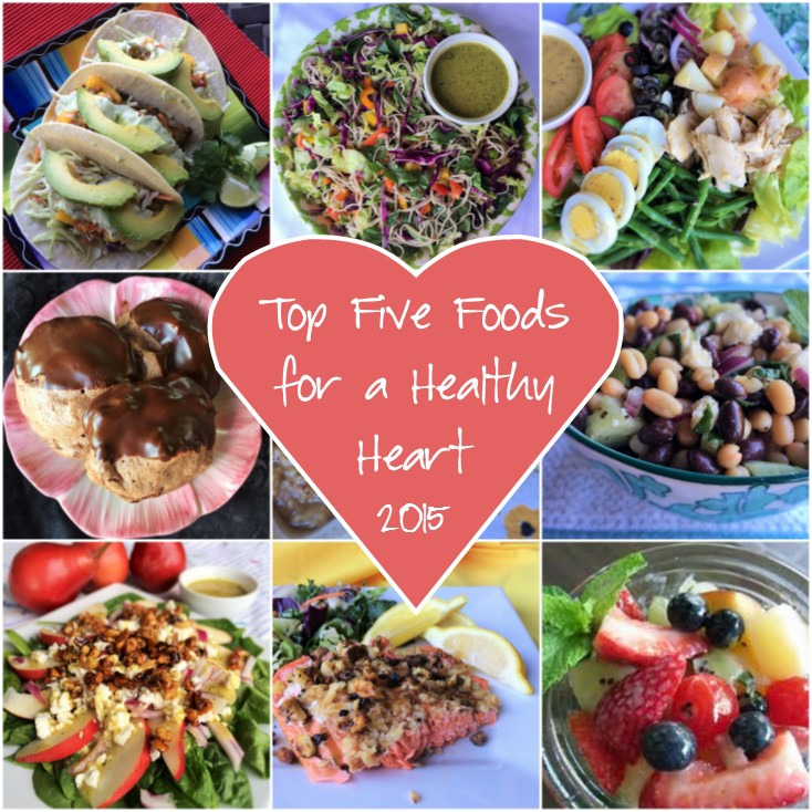 Top Five Foods for a Healthy Heart 2015