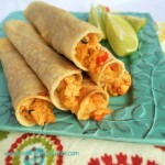 Baked Cheesy Chicken Taquitos 2