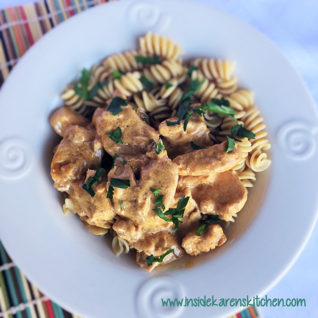 Chicken Paprikash 1