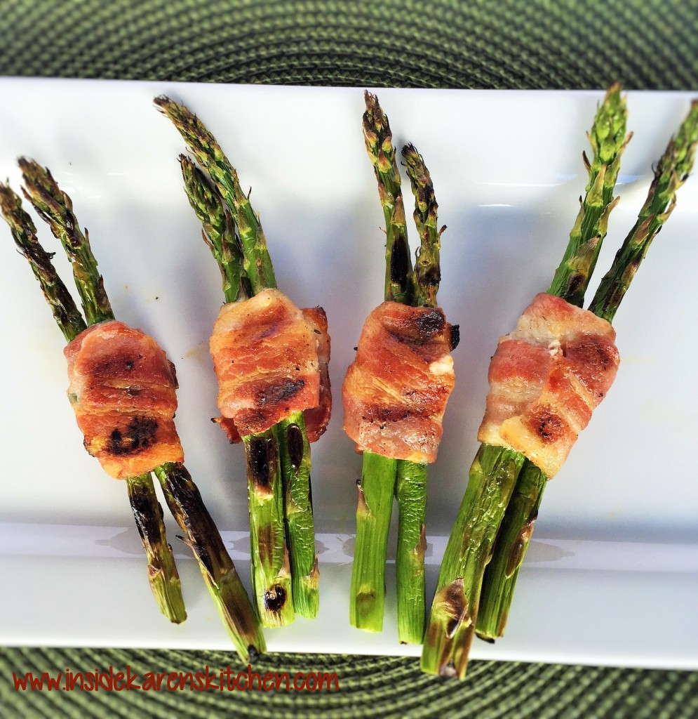 Bacon-Wrapped Grilled Asparagus 3