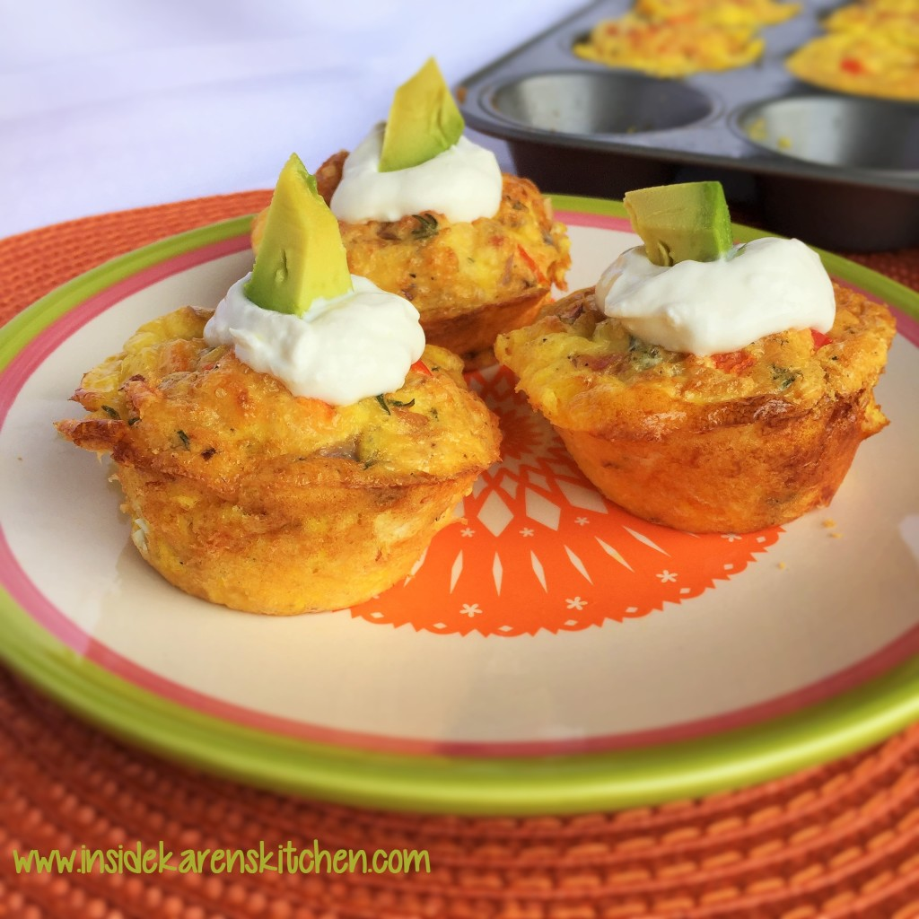 Egg, Ham and Swiss Cheese Muffin Cups 3