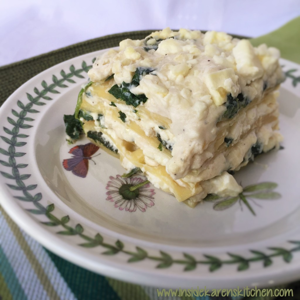 Feta and Spinach Lasagna 2