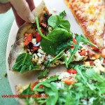 Greek Chicken Pizza with Easy Whole Wheat Crust 3