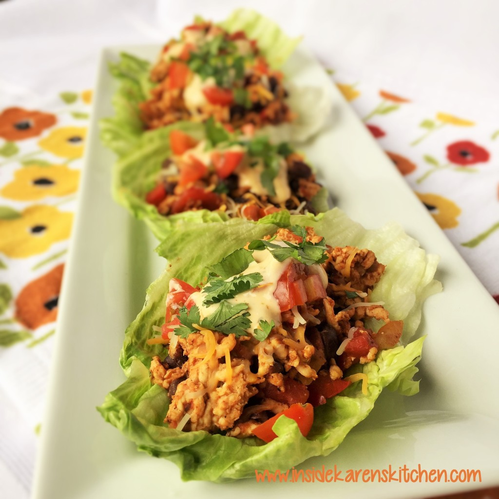 Turkey Taco Lettuce Wraps 2
