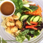 Grilled Shrimp Salad with Thai Peanut Dressing 1
