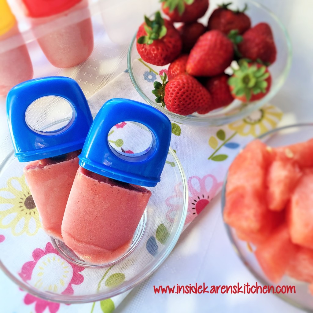 Strawberry Watermelon Protein Pops 1
