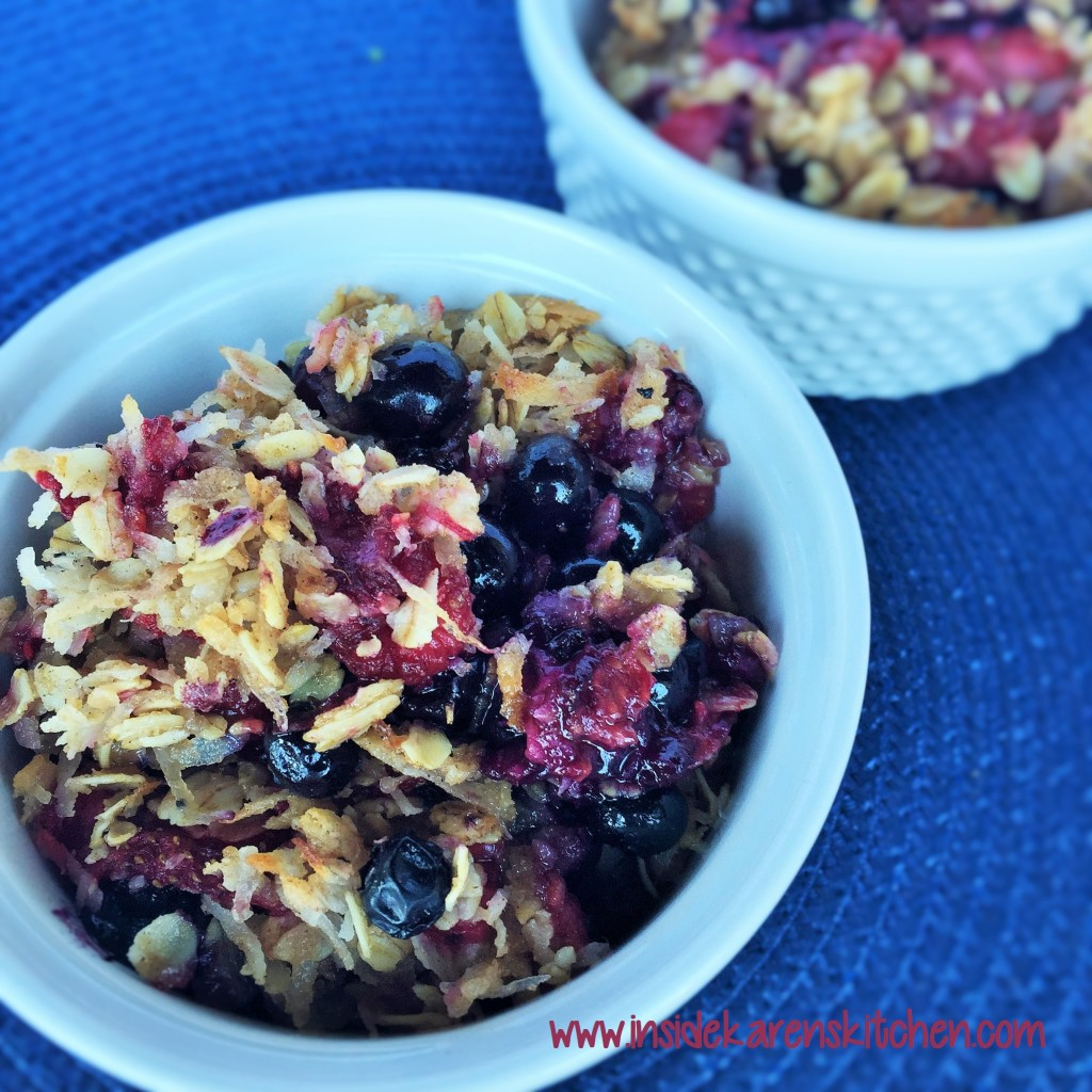 Fresh Berry Coconut Crisp 2