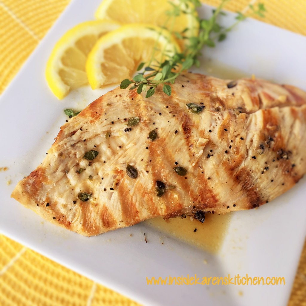 Lemon and Thyme Grilled Chicken