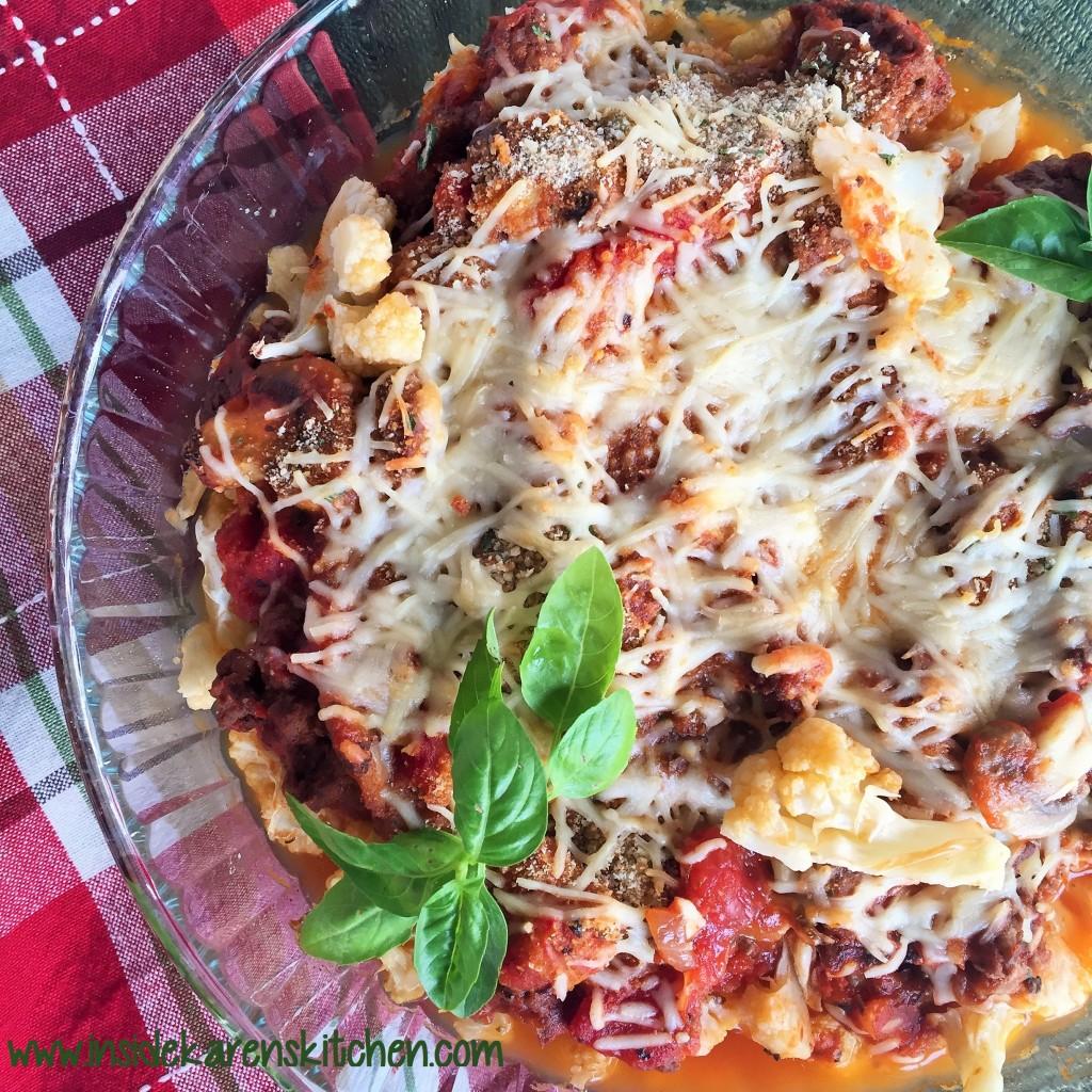 Baked Italian-Style Cauliflower 1