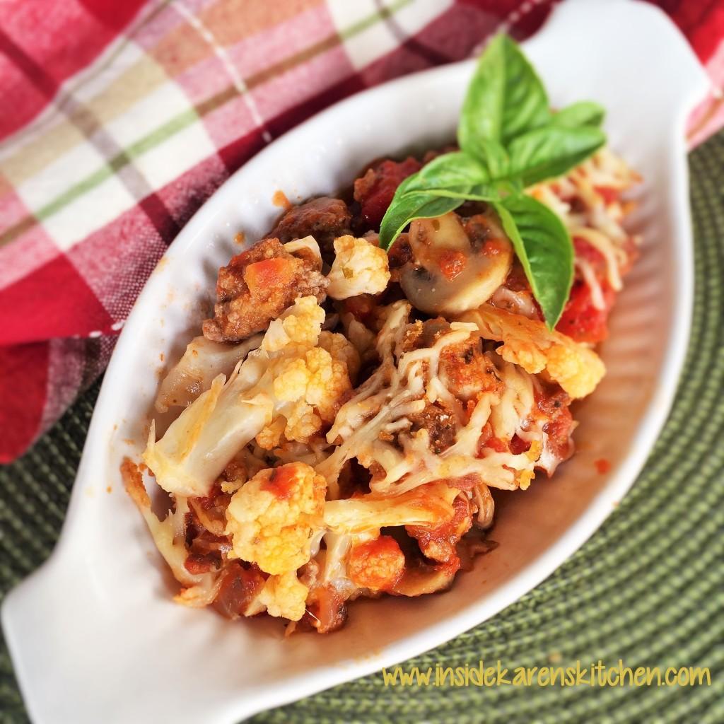 Baked Italian-Style Cauliflower 3