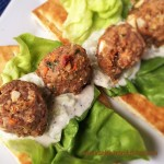 Greek Quinoa Beef Meatballs 2