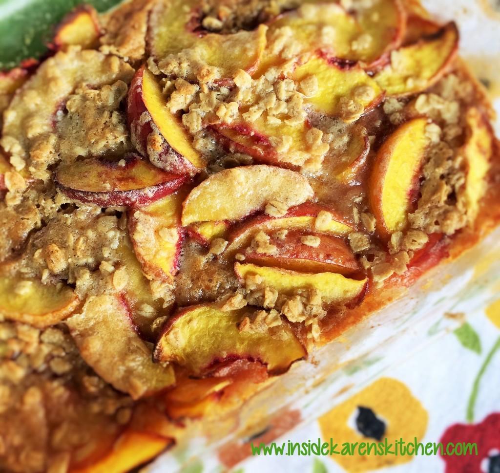 Oatmeal Cookie Peach Cobbler 3