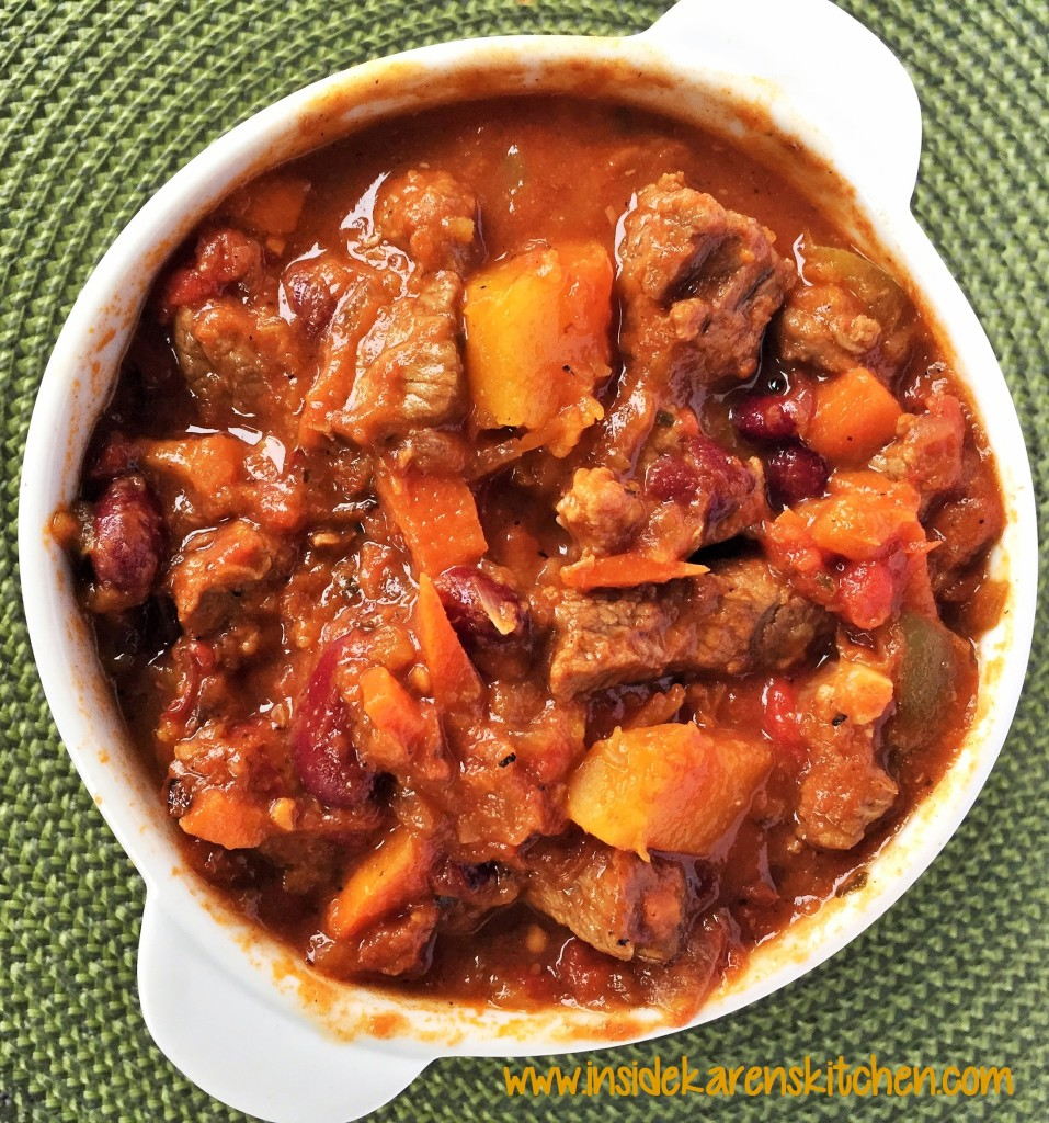 Beef and Butternut Squash Chili 1